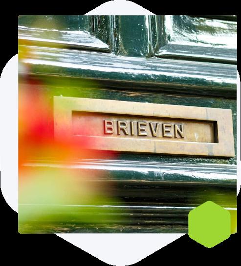 Amsterdam door letterbox